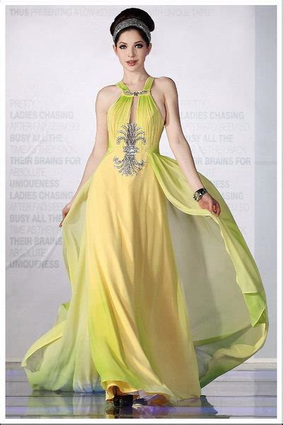 fashion show trendy  top prom dresses