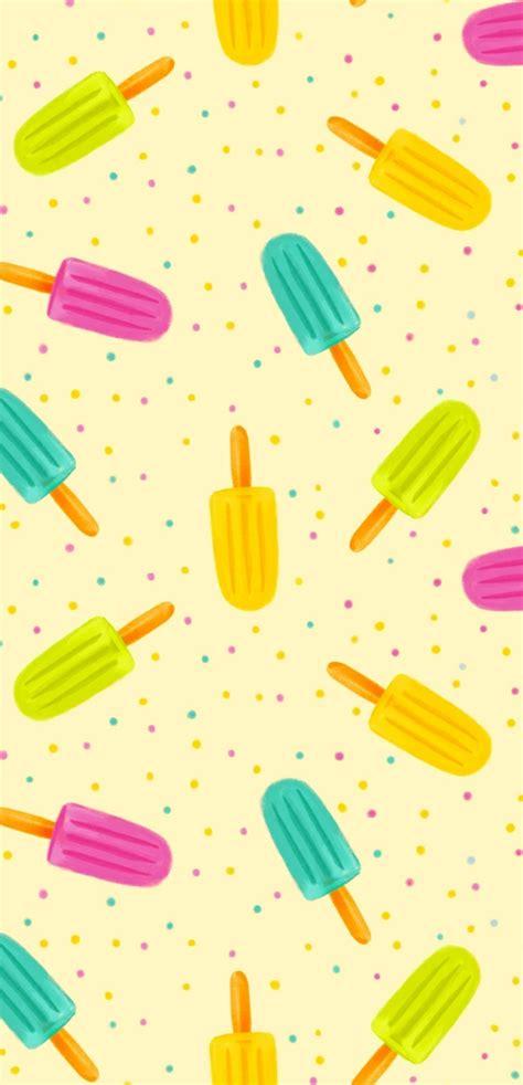 kalender tapeten design kinderzimmer wandgestaltung mustertapeten eis am stiel