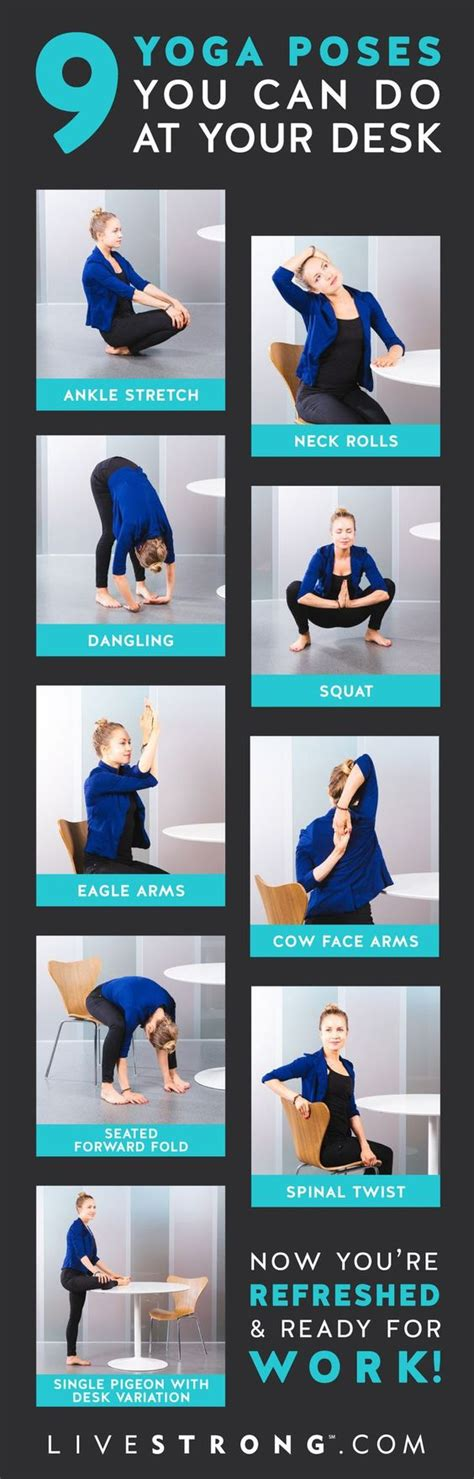 at desk downdog diary keeps you 9 poses you can