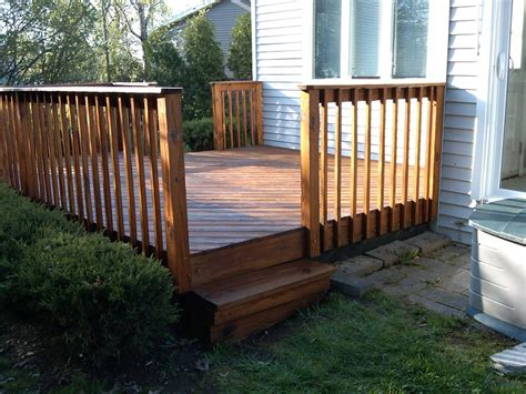 Diy Backyard Deck Ideas by Diy Deck Railing Designs Outdoor Improvement Ideas Also