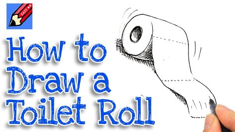 how to draw a toilet how to draw a toilet roll real easy spoken tutorial