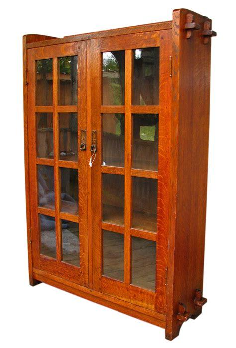 Roycroft Bookcase L Amp Jg Stickley Narrow Bookcase W1298 Joenevo