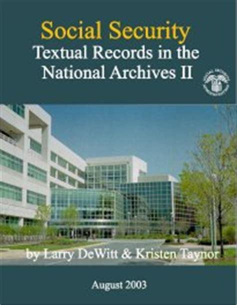 Ssa Gov Records Social Security History