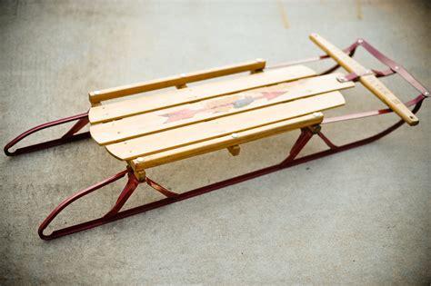 vintage sled 35 flourishvintage