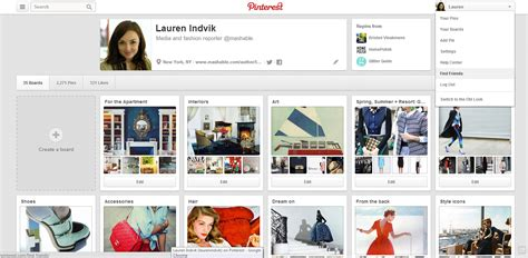 new pinterest layout problems pinterest begins rolling out new site design