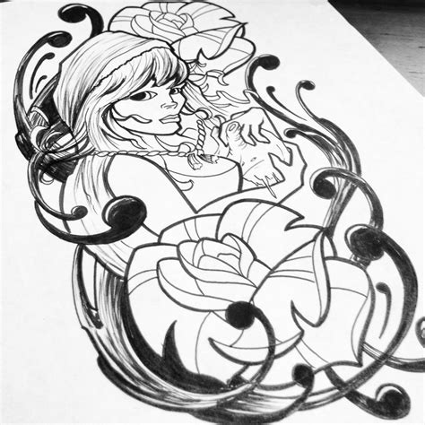 hood tattoo designs design