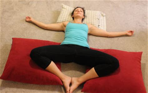 reclining butterfly pose ace fit fit life 5 bedtime yoga poses to relax and de