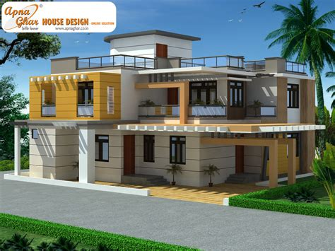 duplex designs duplex house design apnaghar house design page 2