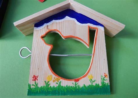 Vogelhaus Basteln Mit Kindern by Basteln Mit Holz So Ensteht Ein Vogelhaus