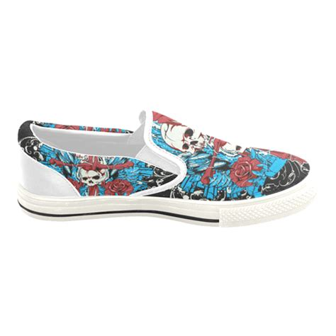 custom slip on canvas shoes for model019 large size