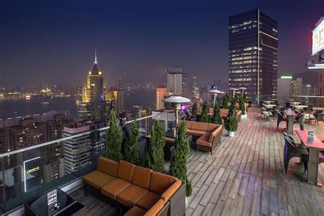 roof top bar hong kong two seventy degrees rooftop bar by harlan goldstein
