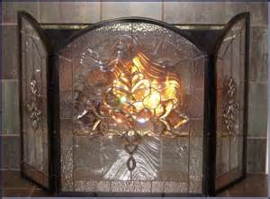 28 stained glass fireplace doors fireplace glass