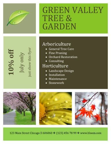 lawn care flyer marketing design landscaping marketing flyer lawn
