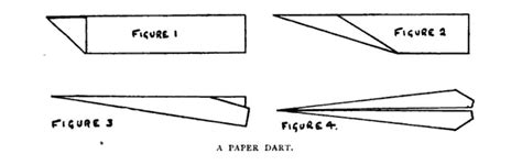 How To Make A Paper Dart - did fly paper airplanes before real airplanes were