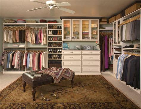 custom walk in closet organizers antique white