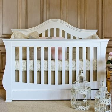 Million Dollar Baby Classic Ashbury 4 In 1 Convertible Crib Million Dollar Baby Ashbury 4 In 1 Sleigh Convertible Crib With Toddler Rail In White Free Shipping