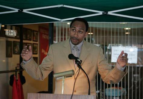 espns stephen a smith talks race and politics espn s smith denies use of n word on air tape tells it