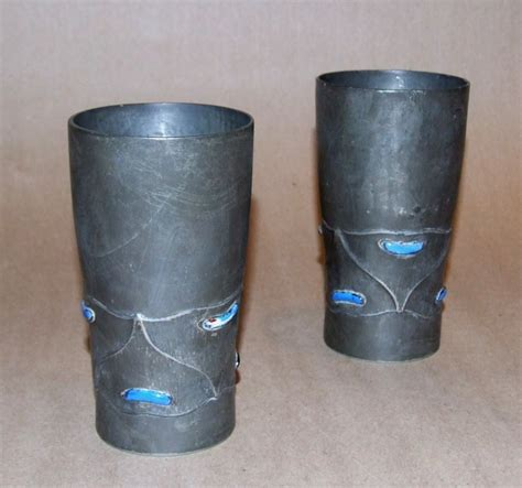 tudric pattern numbers pair of pewter and enamel quot tudric quot vessels for sale at 1stdibs
