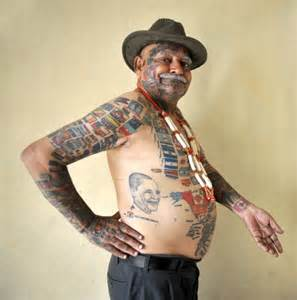 tattoo name prakash guinness rishi holds record for most flag tattoos but wife