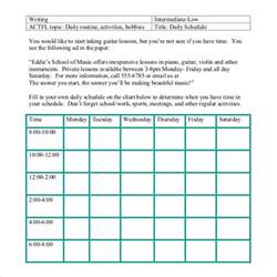 Daily Routine Template by Daily Schedule Template 29 Free Word Excel Pdf