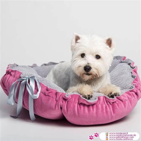 cucce e cuscini per cani cuccia cuscino per kalendula rosa e grigio
