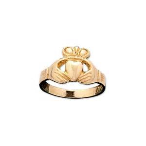 clatter ring dillons claddagh gold childs 9ct gold claddagh ring