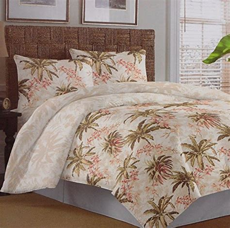 tropical comforter sets king tommy bahama bonny cove tropical comforter set