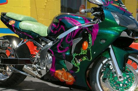 Custom Airbrushed Motorcycles Custom Motorcycles
