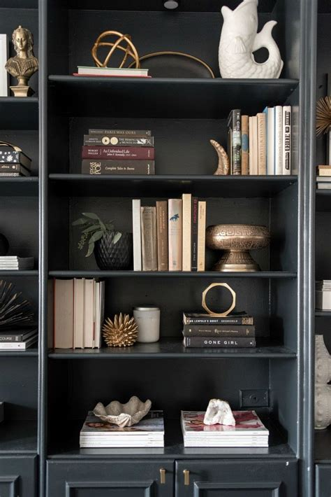 books for decorating shelves 25 best ideas about black bookcase on pinterest