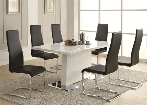 Have A Cheerful Dining Experience With The Contemporary Dining Table And Chairs Modern