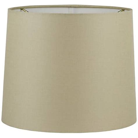 Beige Drum L Shade by Beige Hardback Drum Shade 4x5x5 Clip On 5y439 Ls
