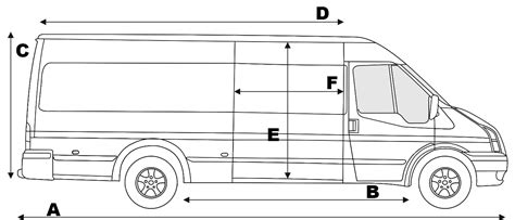 Ford Transit Connect Interior Dimensions by Ford Transit Interior Dimensions 2007 Www Indiepedia Org