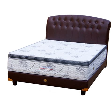 Springbed Set 160 Free Ongkir 3 sell bigland bed golden plus top 160 set from indonesia by pt dyna