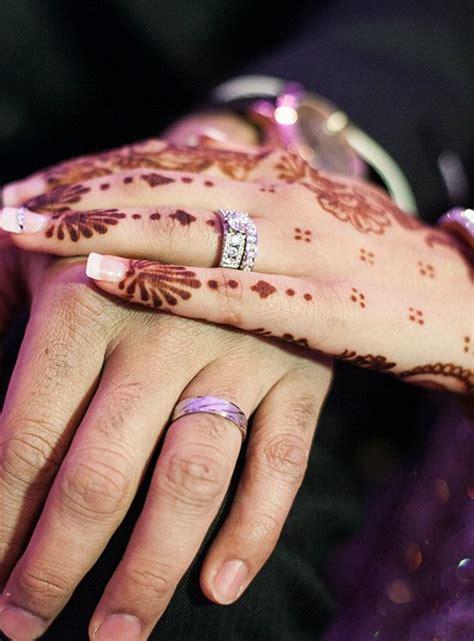 henna tattoo real real weddings henna tattoos wedding photos events