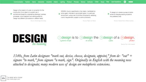 visual layout meaning what does design mean to you