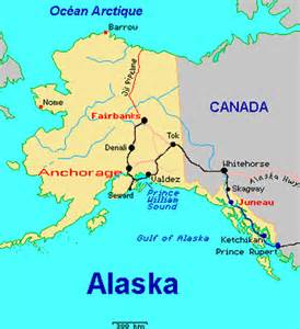 usa map alaska map of alaska and canada and usa