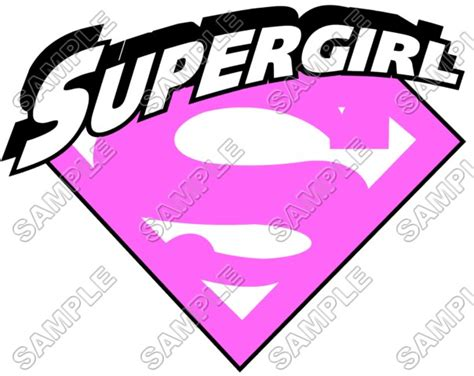 printable iron on logos pink supergirl logo free coloring pages