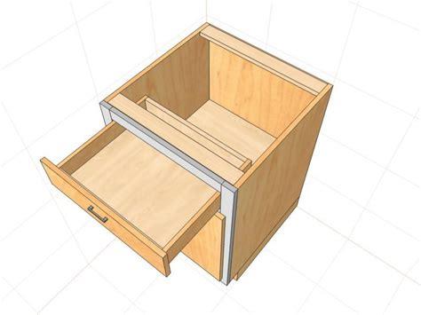 Drawer Cabinet Design by Custom Cabinet Software