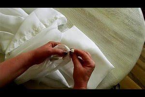vorhang raffen anleitung gardinen aufh 228 ngen leicht gemacht n 252 tzliche tricks