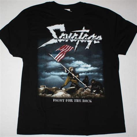 Tshirt Savatage savatage fight for the rock 1986 new black t shirt best