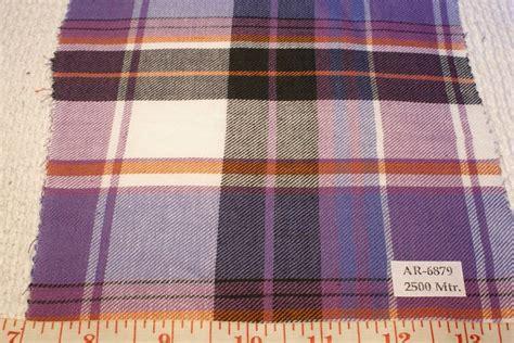Plaid Patchwork Fabric - madras plaid flannel twill madras fabric patchwork