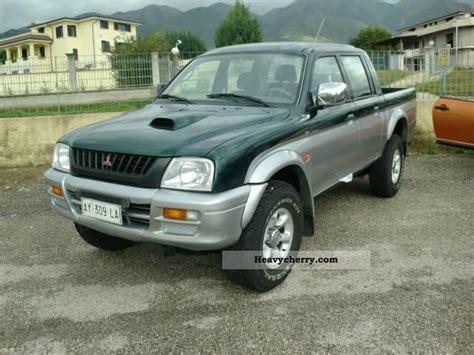 mitsubishi truck 1998 mitsubishi l200 pick up 4x4 magnum sports 1998 other vans