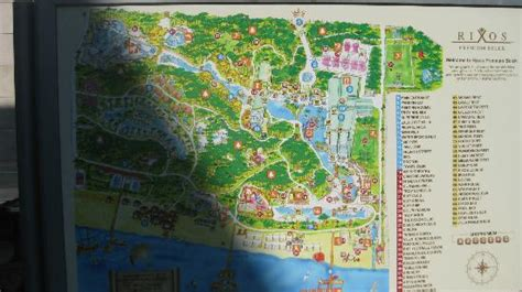 belek resort hotel map map of hotel facilities picture of rixos premium belek