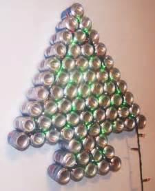 manualidades luna clara arbol de navidad reciclado