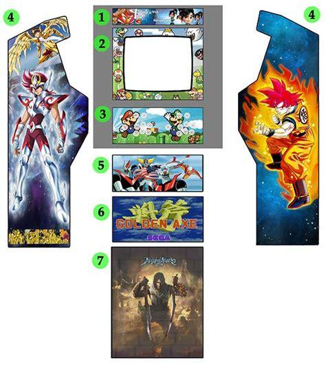 vinilos arcade vinilos y artes gr 225 ficas maquinas arcade recreativas