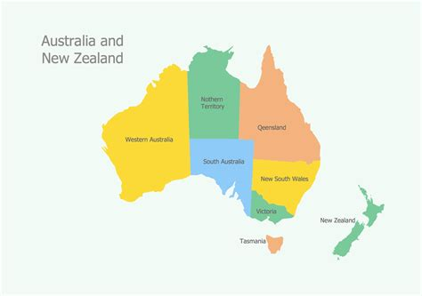 map of australia and nz geo map australia