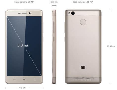 Xiaomi 3x Gold xiaomi redmi 3x miui 7 octa 4g smartphone 5 0 inch 2