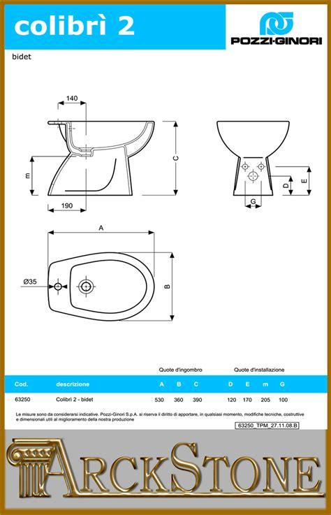 bidet colibri 2 scheda tecnica arckstone igienici sanitari bagno bidet ceramica bianco