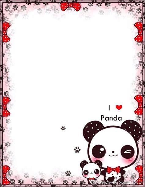 printable panda stationery pin by maem pedersen on planner pinterest stationery