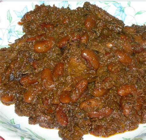 Kacang Jogo Merah cara membuat rendang kacang merah lezat resep makan sedap